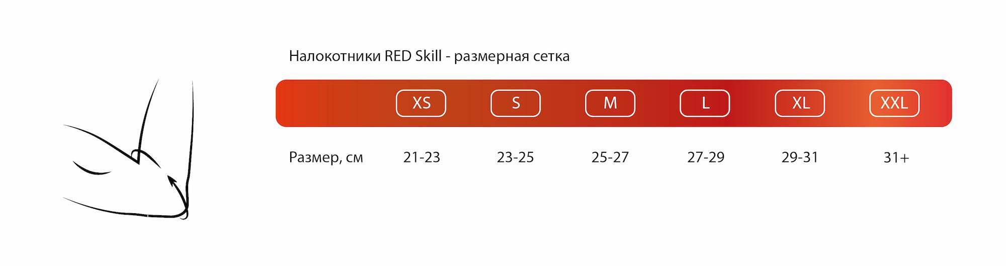 Как определить размер налокотников